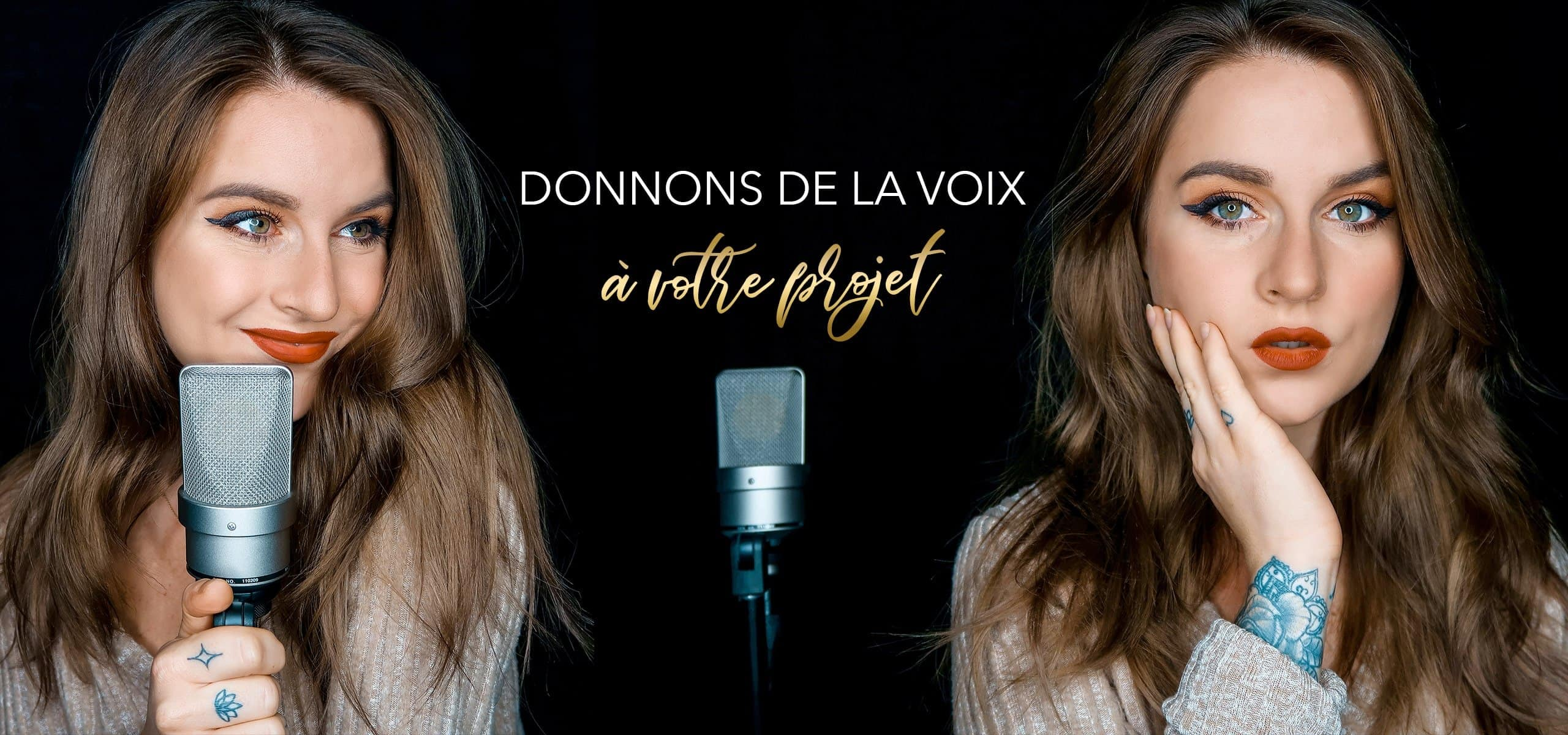 french female voice over