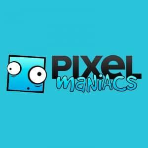 Pixel Maniacs voix off femme